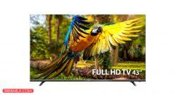 تلویزیون ال ای دی دوو مدل 43k4300 سایز 43 اینچ