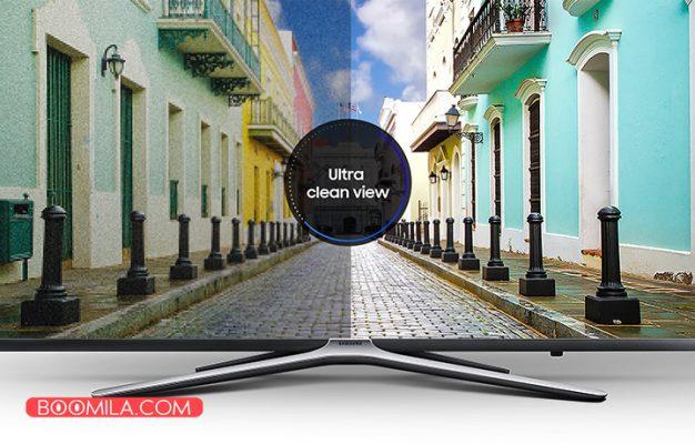 تلویزیون ال ای دی هوشمند خمیده سامسونگ مدل 49N6950 سایز 49 اینچ