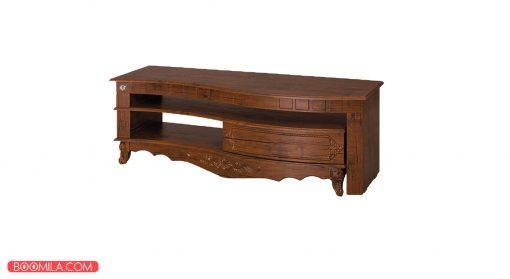 میز تلویزیون مدل R714AT رنگ آنتیک کاج