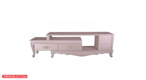 میز تلویزیون مدل R702W رنگ سفید
