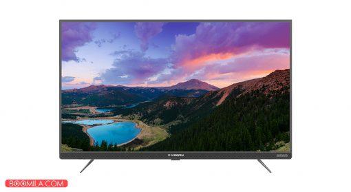 تلویزیون ال ای دی هوشمند ایکس ویژن مدل 43XT725 سایز 43 اینچ