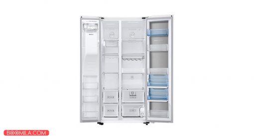 یخچال و فریزر ساید بای ساید سامسونگ مدل FSR14 رنگ سفید